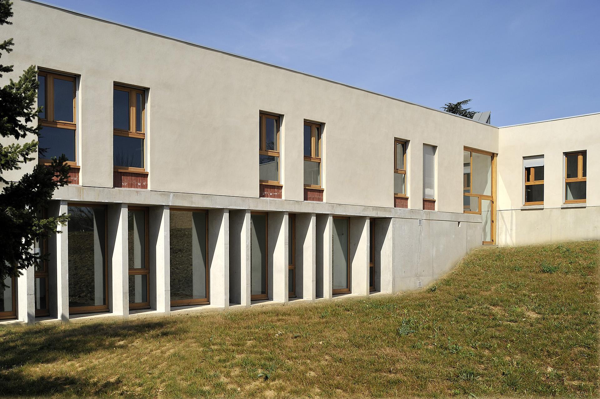 Hôpital Psychiatrique Les Coralines (Atelier Régis Gachon Architecte)