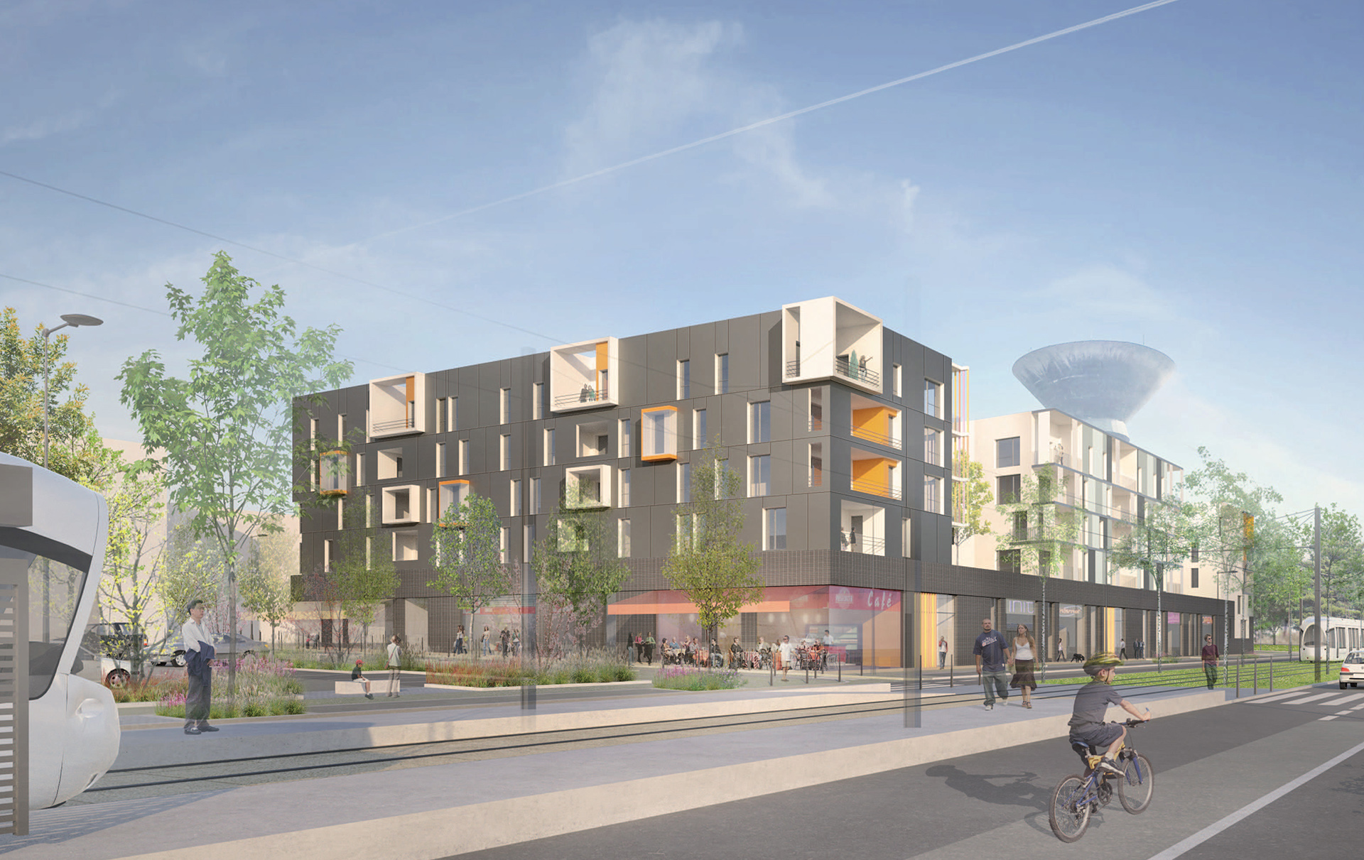 Venissy - Ilot B (Atelier Régis Gachon Architecte)
