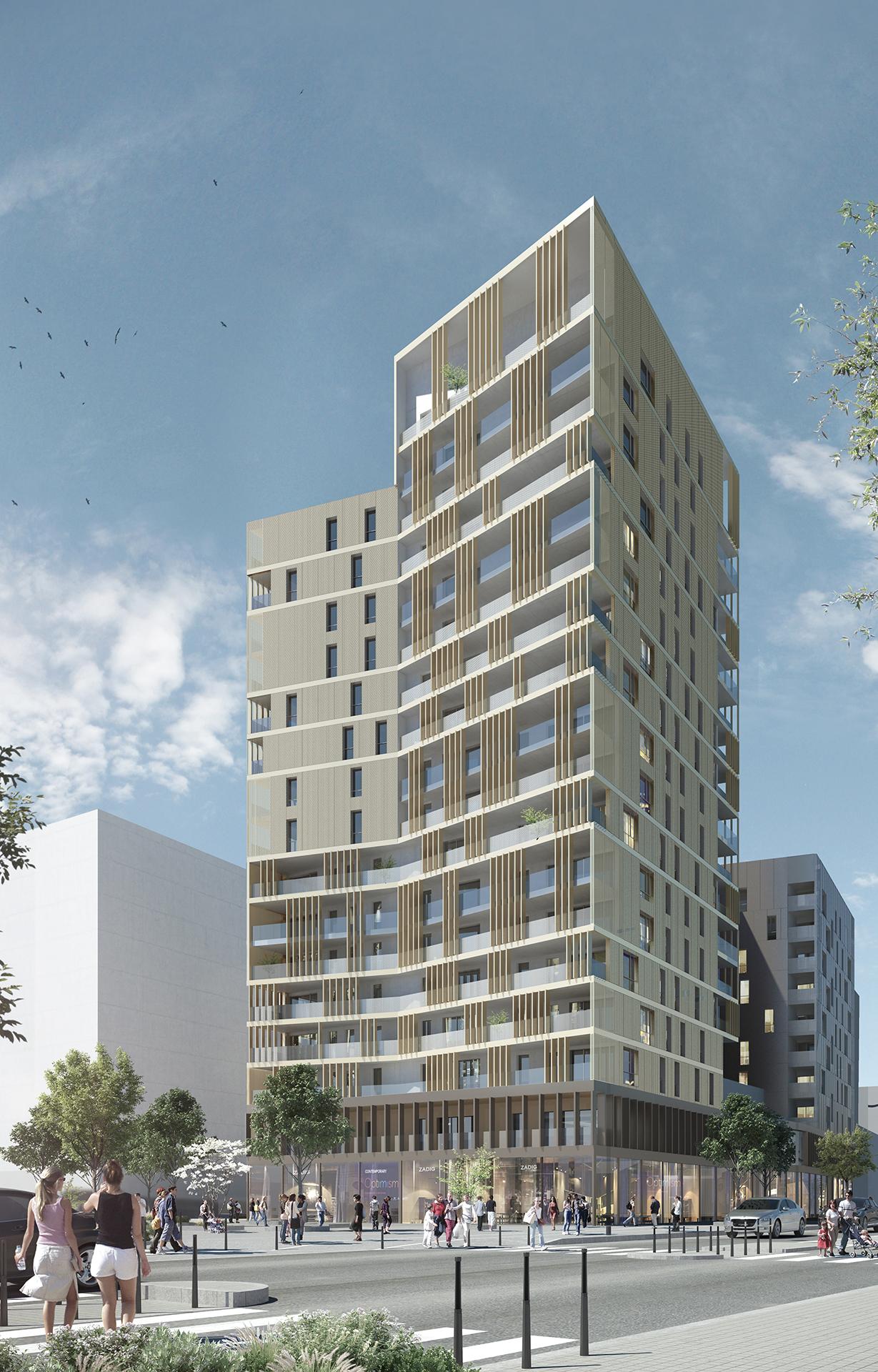La Soie - Ilot C (Atelier Régis Gachon Architecte)