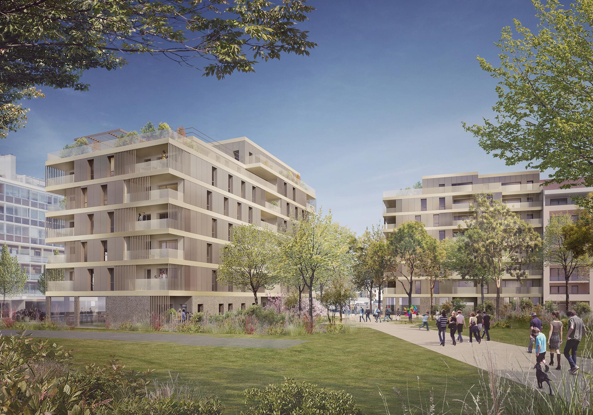 Ilot des Trois Places (Atelier Régis Gachon Architecte)