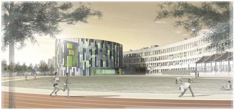 Internat Lycée Lumière (Atelier Régis Gachon Architecte)